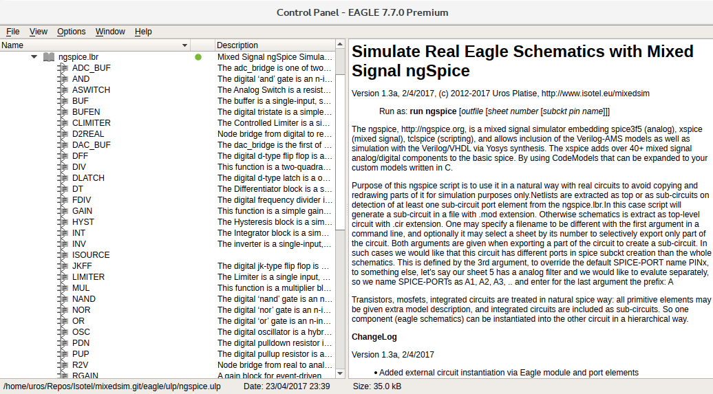 Conceptual Simulation of Digital Sine Generator from Eagle — Isotel