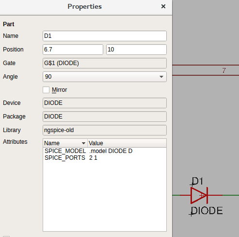 Conceptual Simulation of Digital Sine Generator from Eagle